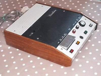 Vintage ANSAFONE Model 40 Answer Phone System - Ideal for Prop or Suit Collector