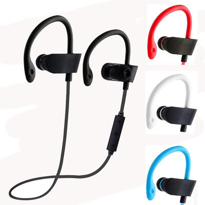 Bluetooth Earbuds Best Wireless Headphones Running Sports Gym Headset Waterproof