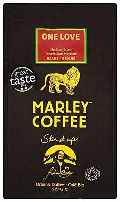 Marley One Love Med RstWhole Bean Coffee [227g] (4 Pack)
