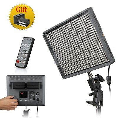5AU Aputure HR672W CRI 95+ 5500K LED Video Light Wireless Control +Free Bag