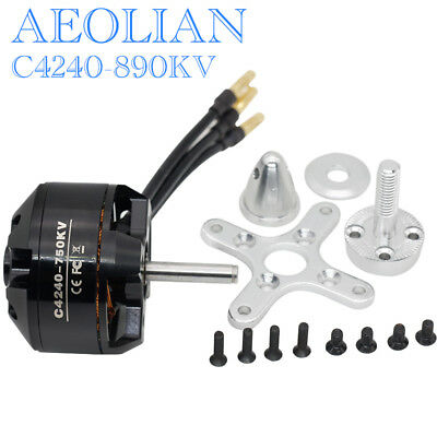 Aeolian C4240-890KV ourtunner brsuhless motor for RC airplane Aircraft