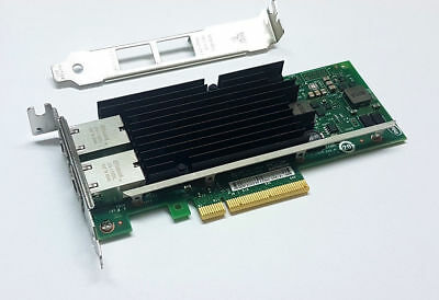 SUN / Intel X540-T2 10Gigabit 10GBe 10Gbit Dual Port Converged Server Adapter