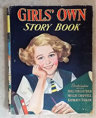 Girls' Own Story Book probably 1956 -  Streatfeild, Chappell and Fidler