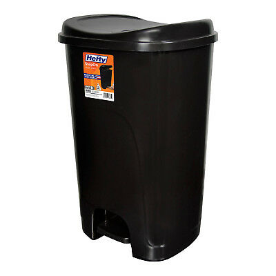 STEP-ON TRASH CAN Plastic Kitchen Garbage Waste Bin Home ...