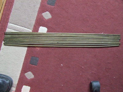 10 Brass Stair Carpet Rods