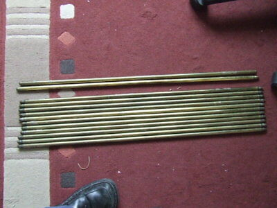 13 Brass Stair Carpet Rods