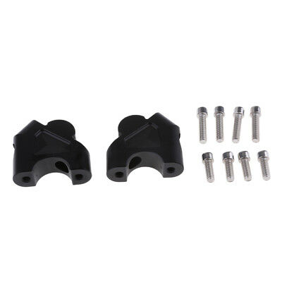 2pcs 32mm Handlebar Risers w/ Bolts for for BMW R1200GS LC 2013-2017 Black