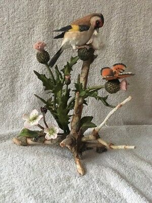 Country Artists Hand Painted & Crafted Bird Figurine - 04161