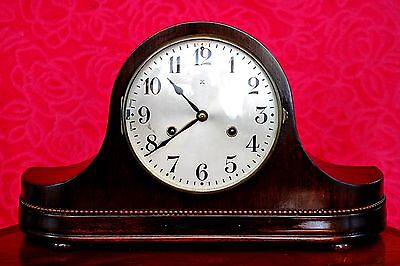 Vintage Art Deco German 'WURTTEMBERG-HAC' Mantel Clock with Westminster Chimes