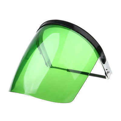 Clear Green Safety Face Shield Welding Cooking Garden Cutting