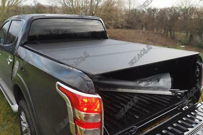 Mitsubishi L200 Series 5 Hard Folding Load Bed Tonneau Cover 2015>