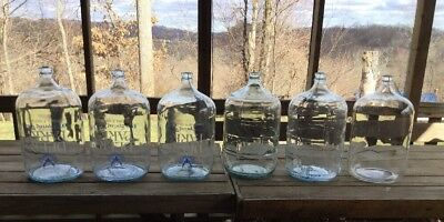 5 Gallon Glass Water Bottle/Jug CRISA Made in Mexico / Wine Making / Fermenting