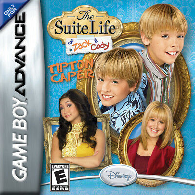 The Suite Life of Zack and Cody: Tipton Caper - Nintendo Game Boy Advance GBA