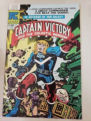 Jack Kirby Indy Comics Lot Of 12 Issues! Captain Victory! Silver Star! Pc! Topps