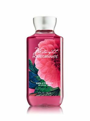 BATH & BODY WORKS MIDNIGHT POMEGRANATE SHOWER GEL Shea & VITAMIN E ALOE 295ml