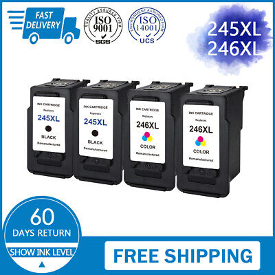 For Canon PG-245XL CL-246XL Ink Cartridges PIXMA MG2520 MG2920 MX490 MX492