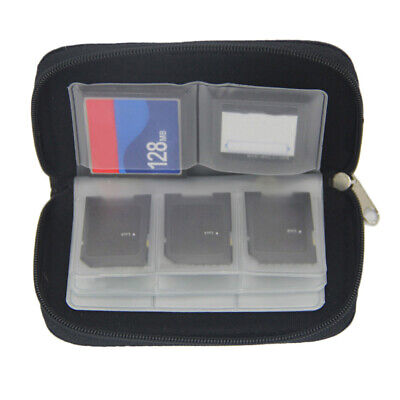 New 22Slots Memory Card Case Holder Storage Pouch Wallet for Micro SD/CF/SDHC/MS