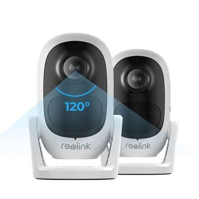 Reolink Wireless 1080P WiFi IP Camera Rechargeable Battery/Solar Powered Argus 2