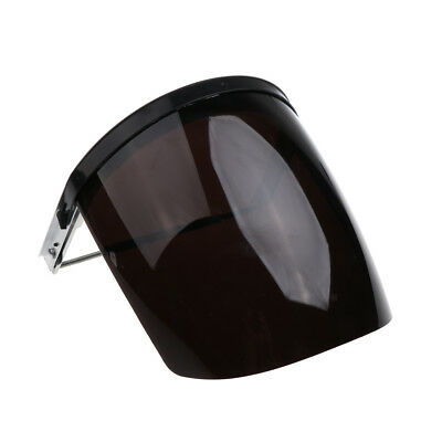 Safety Face Shield Mask Flip Up Visor Clear Protector Eye Protection Grey