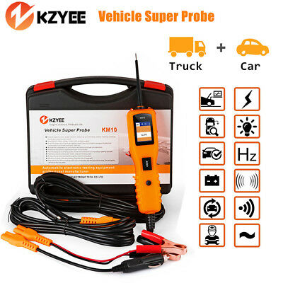 12V 24V Car LED Electrical Circuit Tester Digital Voltage Power Scan Tool KM10