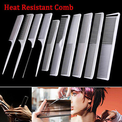 Heat-resistant Hairdressing Comb Set Hair Styling Kit Professional Barber Salon