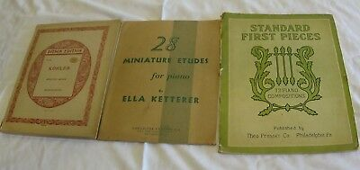 Music book lot standard of excellence for band teacher set 41 vintage sheet music book lot 28 miniature etudes ditson kohler standard 1st fandeluxe Choice Image
