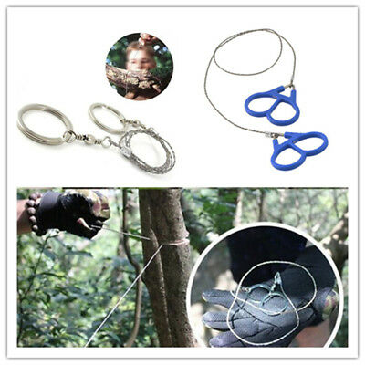 Emergency Travel Survival Gear Hiking Camping Stainless Steel Wire Saw Hot