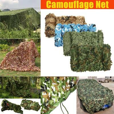 3mX5m Army Camouflage Net Camo Netting Camping Shooting Hunting Hide Woodland