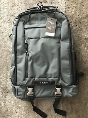 948481c54f7 TIMBUK2 THE AUTHORITY Pack Jet Grey Nylon Backpack - $94.99 | PicClick