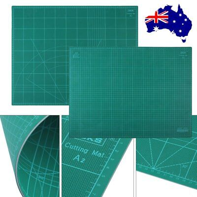 A2 PVC Self Healing Cutting Mat Craft Quilting Grid Lines Printed Board Cut @Q