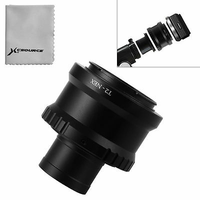 """T T2 Ring for Sony NEX Camera Lens Adapter + 1.25"""" Telescope Mount Metal DC690"""