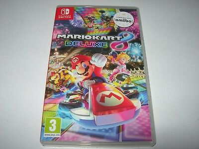 Nintendo Switch : MARIO KART 8 DELUXE -  Box ONLY - NO GAME!!