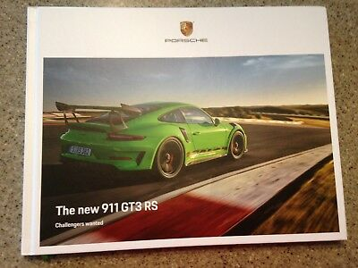 2019 Porsche 911 GT3RS Hardcover Brochure