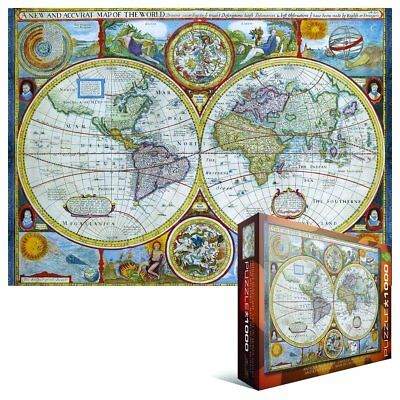 Eurographics puzzles antique world map jigsaw puzzle 1349 eurographics puzzles antique world map jigsaw puzzle gumiabroncs Image collections