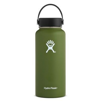 Hydro Flask Hydration 32oz Wide Mouth Bottle in Olive