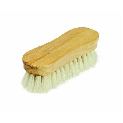 Cottage Craft Goat-hair Face Brush - Off-white - Hair Goat Horse Grooming