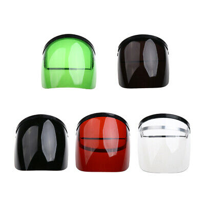 Clear Flip Up Face Shield Screen Safety Mask / Face Eye Protection Workwear