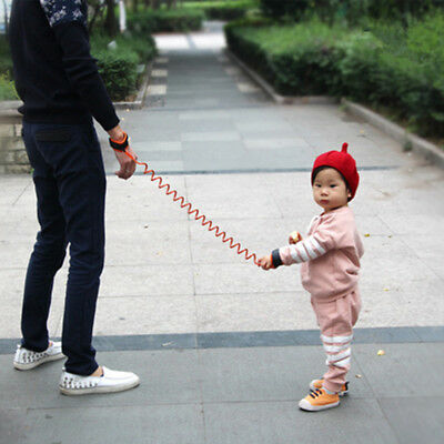 Kids Safety Leash Anti Lost Wrist Strap Baby Walk Child Toddler Link Harness SP