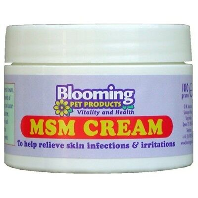 Monster Pet Supplies Equimins Blooming Pets Msm Cream (dog And Cat) 100g Jar -
