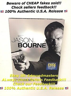 Jason Bourne DVD Brand New Sealed 100% AUTHENTIC, Beware of Cheap Fakes Sold!
