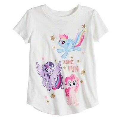Jumping Beans My Little Pony T-Shirt for Toddler Girls Summer Tee Size 2T