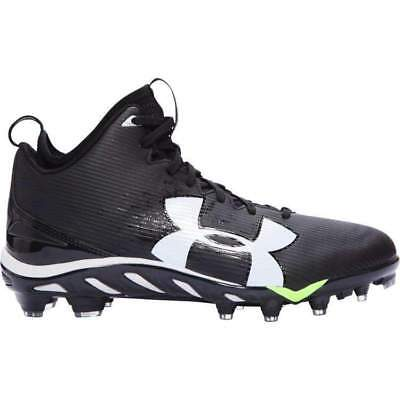 brand new cb98a d4d2b Under Armour Spine Fierce MC Football Cleats Black - 1269740-001