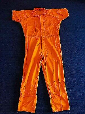 2XL Authentic Orange Jumpsuit Maryland Inmate Jail Prisoner Prison mechanic