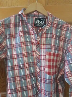 *REDUCED* Next Red Check Summer Shirt Size 13 Years