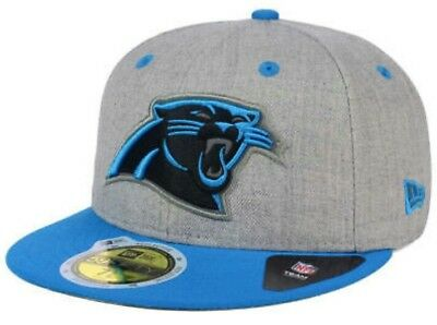 low priced 36888 54be6 ... australia carolina panthers new era nfl total reflective 59fifty fitted  hat size 7 1 4 5e4a0