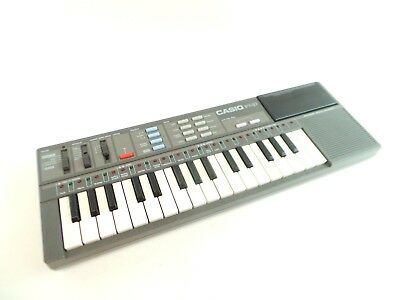 Casio Casiotone PT-87 Vintage Synthesizer Electronic Keyboard #qa0a