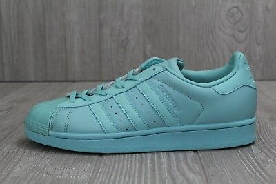 the best attitude 5f445 4ad9a 30 NEW ADIDAS Originals Superstar Glossy Toe Women's Mint Shoes BB0529 7 8  10