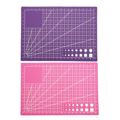 PVC A5 Double Side Sewing Quilting Cutting Mat Durable Pad Patchwork Tools