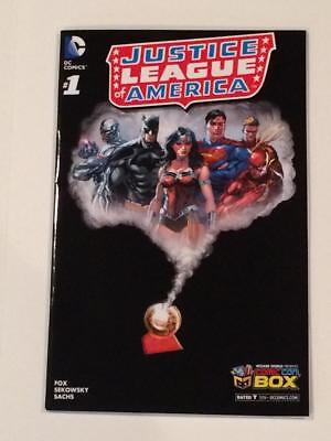 Justice League of America #1 Comic Con Box Exclusive Variant Cover VF Wizard