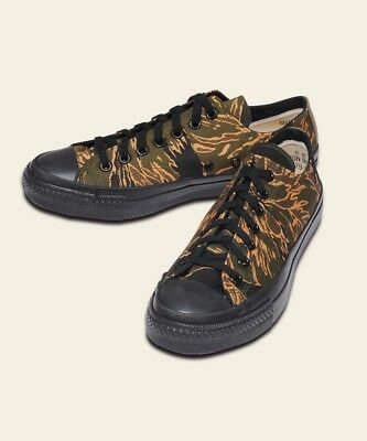 Buzz Rickson's Golden Tiger-Stripe Camo Vintage-Style Sneakers SALE at True Cost